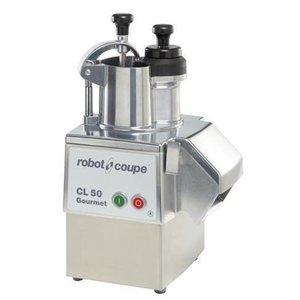 Robot Coupe Groentesnijder CL50 Gourmet | Robot Coupe | 400V | tot 250Kg/uur | Snelheid: 375 TPM