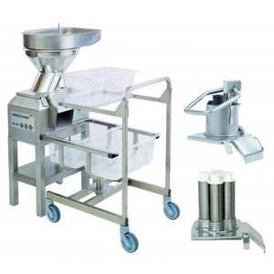 Robot Coupe Vegetable cutter CL60 | Robot Coupe | 3 Openings | 400V | 2 speeds: 375 and 750 RPM