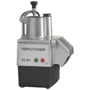 Robot Coupe Groentesnijder CL50-2 | Robot Coupe | 400V | tot 250Kg/uur | 2 Snelheden: 375 & 750 TPM