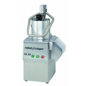 Robot Coupe Groentesnijder CL52 | Robot Coupe | 400V | 2 Snelheden: 375 & 750 TPM