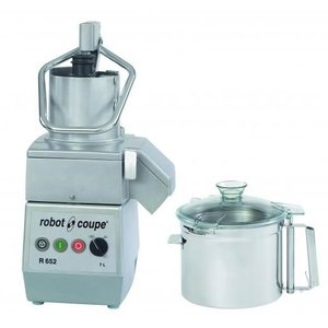 Robot Coupe Combi Cutter & Groentesnijder | Robot Coupe R652 | 7 Liter | 400V | 2 Snelheden: 750 & 1.500 RPM