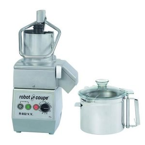 Robot Coupe Combi Cutter & Vegetable Cutter R652VV | Robot Coupe | 7 Liter | Variable Speed: 300-3500 RPM