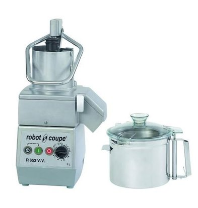 Robot Coupe Combi Cutter & Vegetable Cutter | Robot Coupe R652VV | 7 Liter | Variable Speed: 300-3500 RPM