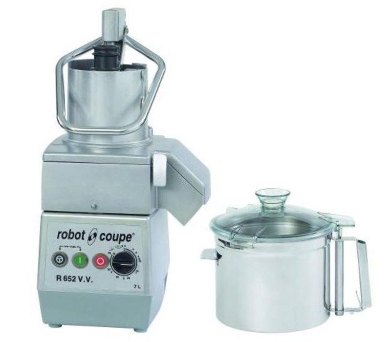 Robot Coupe Combi Cutter & Groentesnijder | Robot Coupe R652VV | 7 Liter | Variable Snelheid: 300 - 3.500 RPM