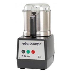 Robot Coupe Cutter R3-3000 | Robot Coupe | 3,7 Liter | Tischplatte | Geschwindigkeit 3000 Umdrehungen pro Minute