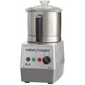 Robot Coupe Cutter R4 | Robot Coupe | 400V | 4,5 Liter | Tischplatte | 2 Geschwindigkeit: 1500 & 3000 RPM