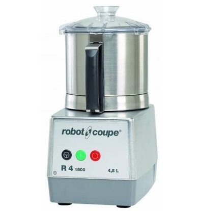 Robot Coupe R4-1500 Robot Coupe Cutter | 4,5 Liter | Tischplatte | Geschwindigkeit: 1500 RPM