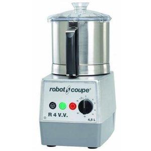 Robot Coupe Cutter R4VV   Robot Coupe   4,5 Liter   Tafelmodel   Variabele Snelheid: 300 - 3.500 TPM