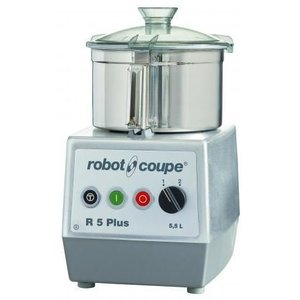 Robot Coupe Cutter R5 PLUS | Robot Coupe | 5.5 Liter | 400V | tabletop | Speed: 1500 & 3000 RPM