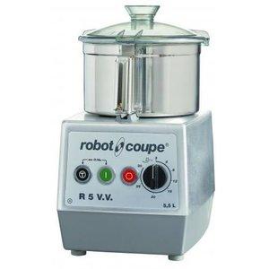 Robot Coupe Cutter R5VV | Robot Coupe | 5,5 Liter | Tafelmodel | Variabele Snelheid: 300-3.500 TPM