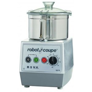 Robot Coupe Cutter R5VV | Robot Coupe | 5,5 Liter | Tischplatte | Variable Speed: 300-3500 RPM