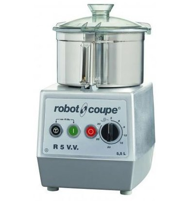 Robot Coupe Robot Coupe Cutter R5VV | 5,5 Liter | Tischplatte | Variable Speed: 300-3500 RPM