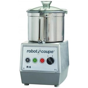 Robot Coupe Cutter R6   Robot Coupe   400V   7 Liter   tabletop   2 Speed: 1500 & 3000 RPM