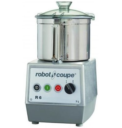 Robot Coupe Robot Coupe Cutter R6 | 400V | 7 Liter | tabletop | 2 Speed: 1500 & 3000 RPM