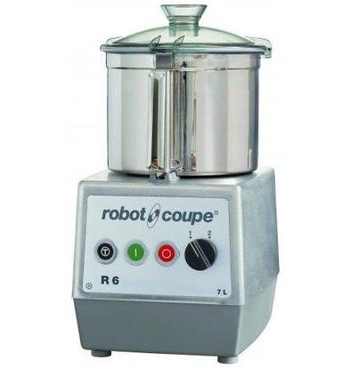 Robot Coupe Robot Coupe Cutter R6 | 400V | 7 Liter | Tischplatte | 2 Geschwindigkeit: 1500 & 3000 RPM