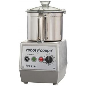 Robot Coupe Cutter R6VV | Robot Coupe | 7 Liter | Tafelmodel | Variabele Snelheid: 300 - 3.500 TPM