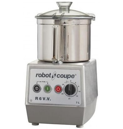 Robot Coupe Robot Coupe Cutter R6VV | 7 Liter | tabletop | Variable Speed: 300-3500 RPM