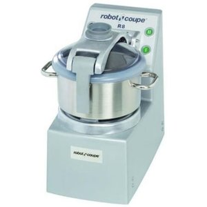 Robot Coupe Cutter R8 | Robot Coupe | 400V | 8 Liter | tabletop | 2 Speed: 1500 & 3000 RPM