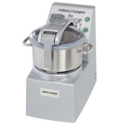 Robot Coupe Robot Coupe Cutter R8VV | 8 Liter | tabletop | Variable Speed: 300-3500 RPM