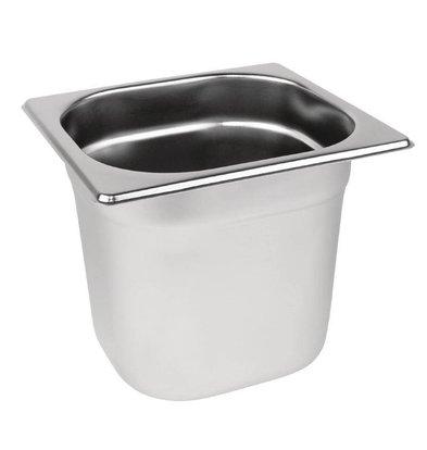 Vogue GN-Behälter 1/6 - GN, 150 mm, 2,2 Liter | 176x162mm
