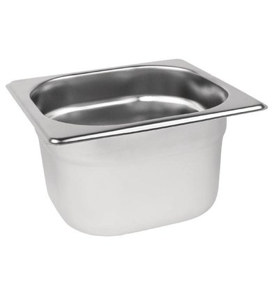 XXLselect GN-Behälter 1/6 - GN, 100 mm, 1,7 Liter | 176x162mm