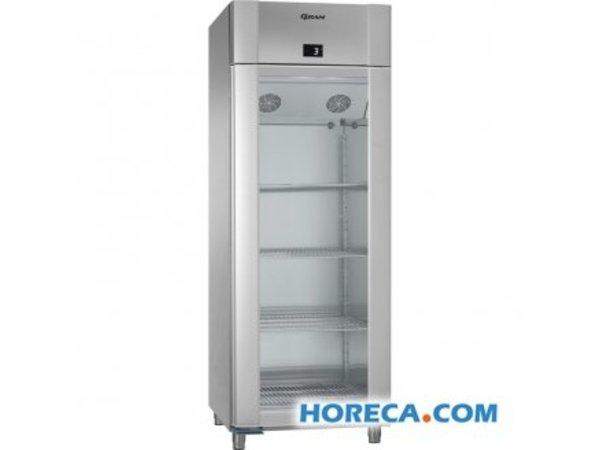 Kühlschrank Glastür : Gram kühlschrank edelstahl edelstahl mit glastür gram eco twin