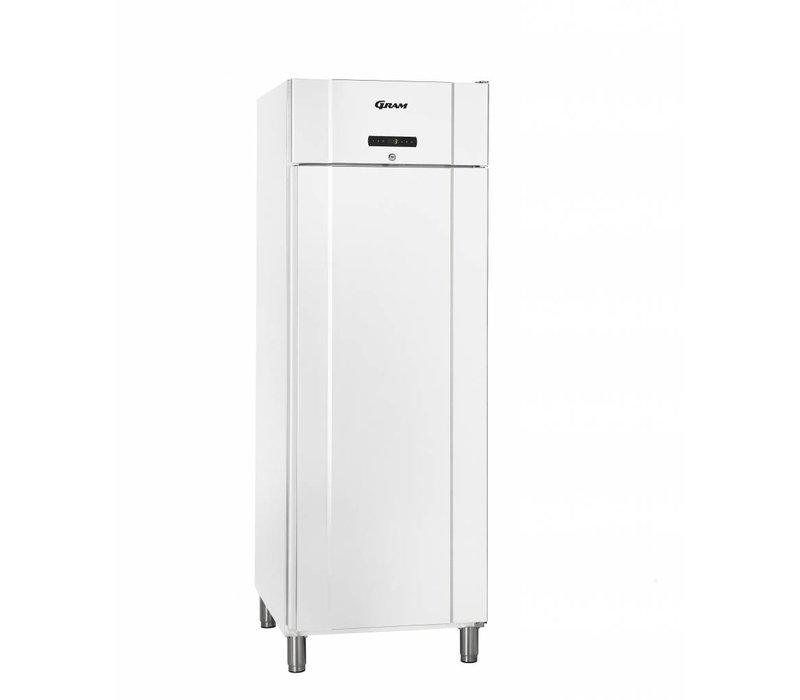 Gram Bäckerei Kühlschrank White + Trockenbetrieb | BAKER M 610 Gramm LG L2 10B | 583L | 695x868x2010 (h) mm
