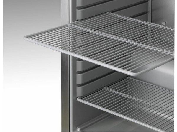 Gram Gefrierschrank Edelstahl Unterbau | Gram COMPACT F 210 RG 3N | 125L | 595x640x830 (h) mm