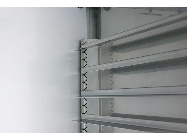 Gram Bäckerei Kühlschrank Edelstahl + Trockenbetrieb | BAKER M 625 Gramm CCG 20B | 603L | 820x771x2000 (h) mm