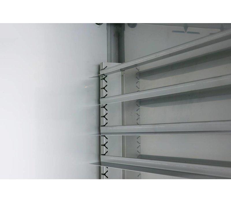 Gram Bakkerij Koelwerkbank | 3 Deurs | Gram BAKER M 2408 CBG A DLB DLB DRB L2 | 865L| 2340x800x885/950(h)mm