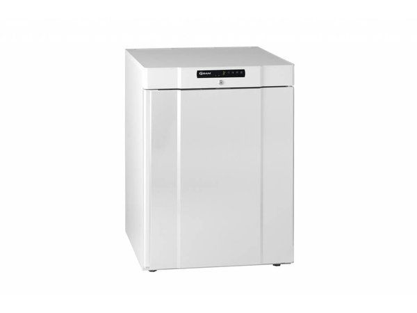 Gram Unterbau Kühlschrank Weiß | Gram COMPACT K 210 LG 3W | 125L | 595x640x830 (h) mm