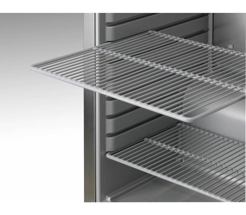 Gram Weiß Kühlschrank mit Glastür   Gram COMPACT KG 310 LG L1 4W   218L   595x640x1300 (h) mm