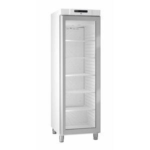 Gram Koelkast Wit met Glasdeur | Gram COMPACT KG 410 LG L1 6W | 346L | 595x640x1875(h)mm