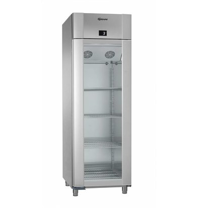 Gram Anzeige Kühlschrank Edelstahl / ALU | Gram ECO PLUS 70 KG CAG L2 4N | 477L | 700x905x2125 (h) mm