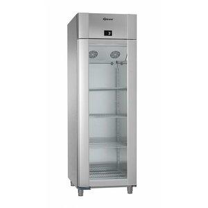 Gram Anzeige Kühlschrank Vario Silber / SS | Gram ECO PLUS 70 KG RCG L2 4N | 477L | 700x905x2125 (h) mm