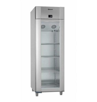 Gram Anzeige Kühlschrank Vario Silber / ALU | Gram ECO PLUS 70 KG RAG L2 4N | 477L | 700x905x2125 (h) mm