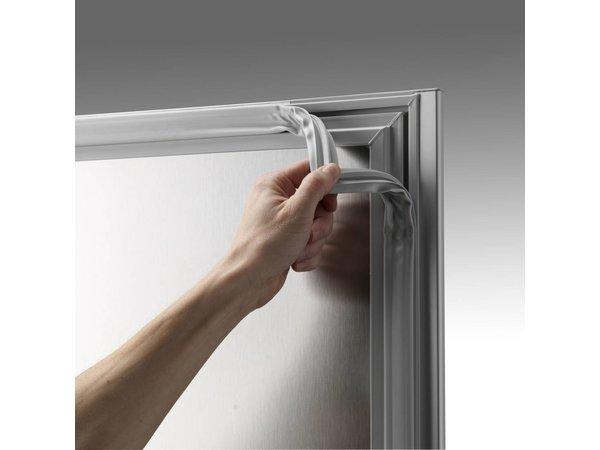 Gram Display Koelkast Wit/ALU | Gram ECO PLUS KG 70 LAG L2 4N | 477L | 700x905x2125(h)mm