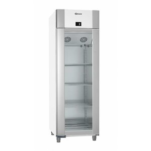 Gram Display Refrigerator White / ALU | Gram ECO PLUS 70 KG LAG L2 4N | 477L | 700x905x2125 (h) mm