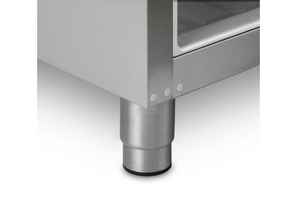 Gram Horeca Gefrierschrank Vario Silber   Gram ECO PLUS F 70 RAG L2 4N   ENERGIESPAR   477L   700x905x2125 (h) mm