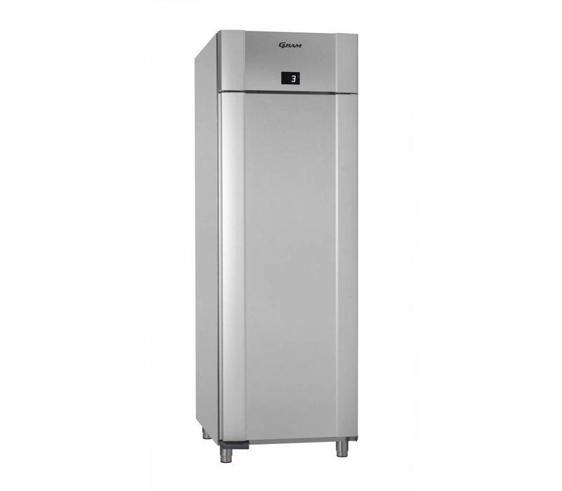 Gram Koelkast Vario Silver + Dieptekoeling | Gram ECO PLUS M 70 RCG L2 4N | ENERGIEZUINIG | 477L | 700x905x2125(h)mm