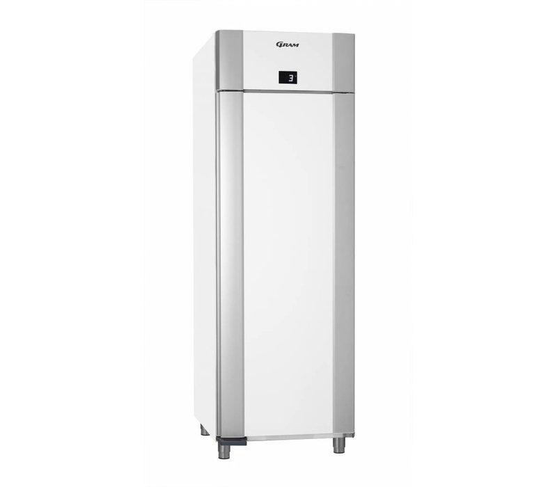 Gram Kühlschrank Weiß + Tiefe Kühlung | Gram ECO PLUS M 70 LCG L2 4N | ENERGIESPAR | 477L | 700x905x2125 (h) mm