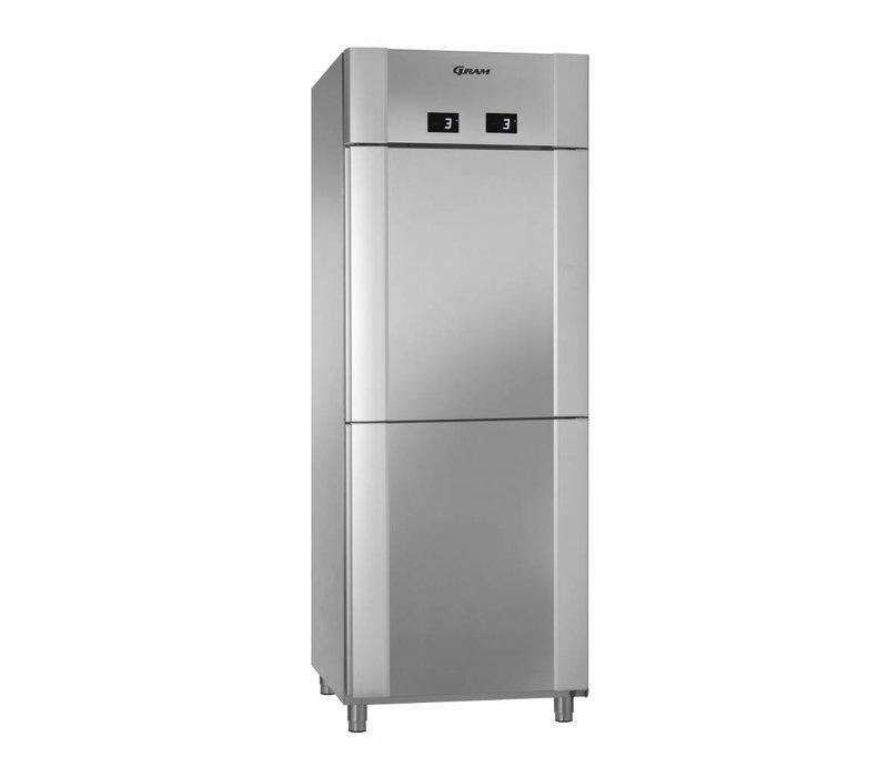 Gram 2 Temperatures Refrigerator | Gram ECO TWIN KK 82 CCG COMBI L2 4S | 2x 228L | 820x755x2125 (h) mm