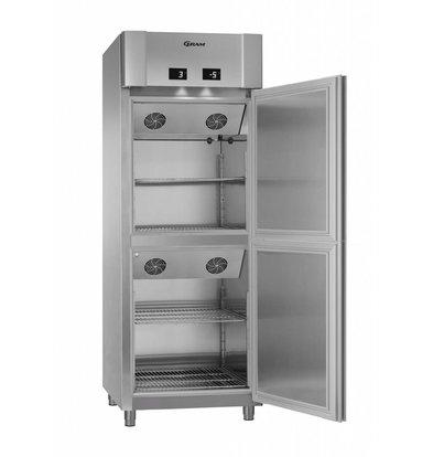 Gram 2 Die Temperaturen Tiefe Cooler / Kühler | Gram ECO TWIN MK 82 CCG COMBI L2 4S | 2x 228L | 820x785x2125 (h) mm