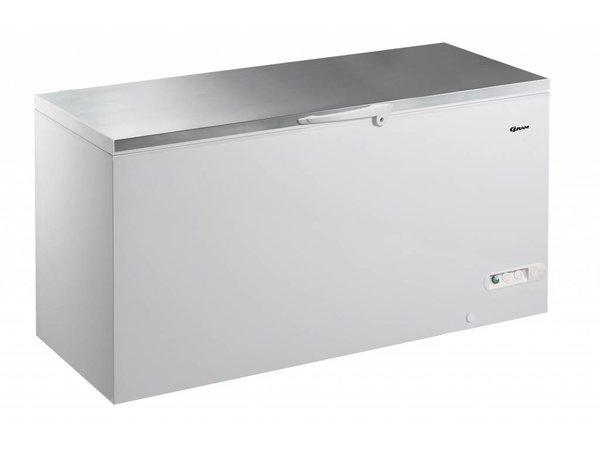 Gram Gefrierschrank mit Edelstahldeckel | Gram CF 53 S | 527L | 1500x730x860 (h) mm