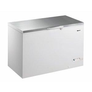Gram Gefrierschrank mit Edelstahldeckel   Gram CF 45 S   447L   1300x730x860 (h) mm