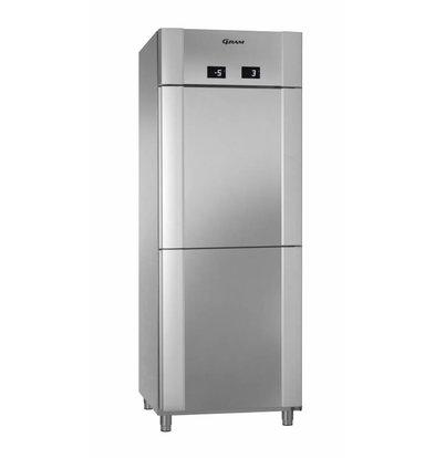 Gram 2 Temperaturen Dieptekoeler/Dieptekoeler | Gram ECO TWIN MM 82 CCG COMBI L2 4S | 2x 228L | 820x785x2125(h)mm