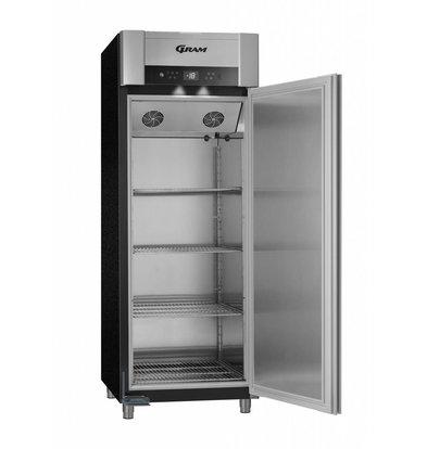 Gram Horeca Freezer Black   Gram SUPERIOR TWIN F 84 BAG L2 4S   614L   840x785x2125 (h) mm