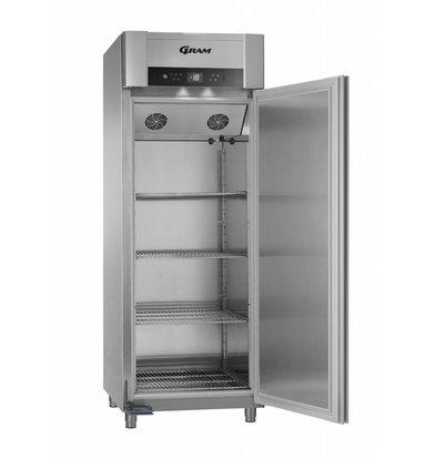 Gram Horeca Freezer Stainless Steel   Gram SUPERIOR TWIN F 84 CCG L2 4S   614L   840x785x2125 (h) mm