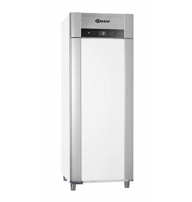 Gram Horeca Kühlschrank Weiß + Tiefe Kühlung | Gram SUPERIOR TWIN M 84 LCG L2 4S | 614L | 840x785x2125 (h) mm