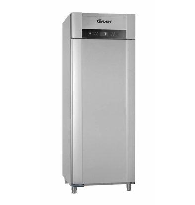 Gram Horeca Kühlschrank Vario Silber + Tiefe Kühlung | Gram SUPERIOR TWIN M 84 RCG L2 4S | 614L | 840x785x2125 (h) mm